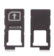 Sony Xperia Z5 Premium rack tiroir slot carte SIM micro SD card tray holder noir