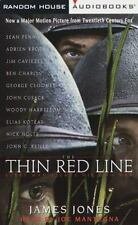 The Thin Red Line by James Jones (1998 Abridged Audio Book on 4 Cassettes) EE472
