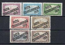 CZECHOSLOVAKIA  1919, MH  ,