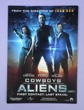 Cowboys & Aliens UK Premiere Ticket 11th August 2011