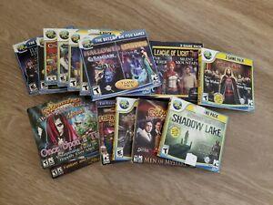 Big Fish PC Computer Game Lot of 18 Mystery Hidden Adventure League of Light