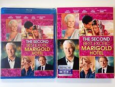 The Second Best Exotic Marigold Hotel (Blu-ray,& HD UV 2015) w/slipcover