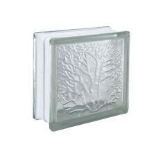 6PCS Glass Blocks Bricks Clear Transparent Wall Floor Home Window Tile DIY Decor