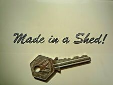 """Made in A Shed! Bike Sticker Silver with Black Outline 4"""" Car Bicycle Scooter"""