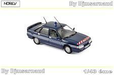 Renault 21 Turbo de 1989 Gendarmerie NOREV - NO 512116 - Echelle 1/43