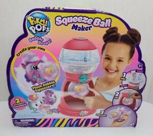 Pikmi Pops Surprise Squeeze Ball Maker Create Plush Bubble Squeezers   New
