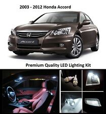 2008 - 2012 Honda Accord Premium White LED Interior Package (12 Pieces)