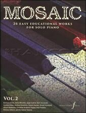 Mosaic Volume 2 26 Easy Educations Works Solo Piano Music Book SAME DAY DISPATCH