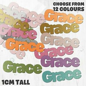 Grace Table Confetti - Choose your own words - 12 Colours