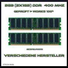 2 Go (2x1gb) DDR-RAM - 400 MHz-pc3200 - 184pin Dimm Mémoire