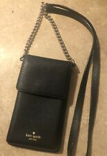 EUC Kate Spade New York Leather Crossbody Smart Phone Pouch Wallet Card Purse