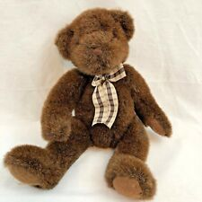 "Teddy Bear Russ Rothschild Plush Stuffed Animal Toy 12"" Brown"