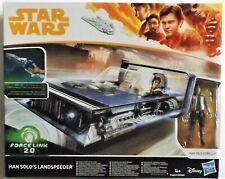 STAR WARS Force Link 2.0 - HAN SOLO'S LANDSPEEDER with Han Solo Figure