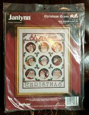 Nine Santas Sampler Christmas Cross Stitch Janlynn 125-67 B19