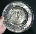 Antique Old Silverplate Silver Plate Plated Charger Angel Religious Angels Plate