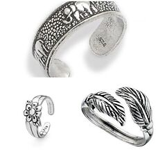 Set Of 3 Sterling Silver Toe