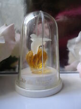 NINA RICCI L'AIR DU TEMPS PARFUM 3.5ml MINI VINTAGE DOVES PERSPEX BIRDCAGE MINT