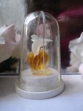 NINA RICCI L'AIR DU TEMPS PARFUM 3.5ml Miniature Vintage Doves Perspex Bird Cage