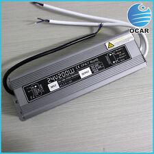 200w IP67 LED AC/DC switch power supply 110v/220v to dc24v led transformer