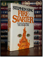 Firestarter ✎SIGNED✎ by STEPHEN KING N/M 1st Hardback Edition First Printing