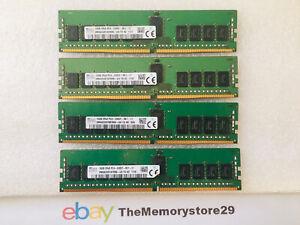 64GB 4 x 16GB 2RX8 PC4-2400T  Server RAM Registered memory DDR4 288 Pin