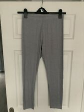 Missguided Grey Leggings Size 10