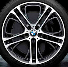 "BMW E70 F15 X5 E71 X6 M Double Spoke Style 310 21"" Gloss Turned Performance Rims"