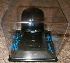 Dave Prowse Darth Vader Star Wars hand signed helmet & COA With photo proof