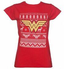 Camisetas de mujer de color principal rojo talla M