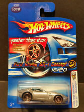 2005 Hot Wheels #016 First Editions Realistix 16/20 : Ford Shelby GR-1 FTE Rims