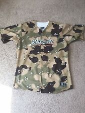 Gary SouthShore RailCats Game Used Autographed Camouflage Army Jersey #22