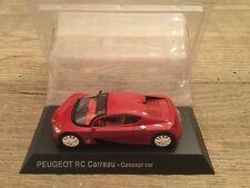 Norev 1/43 Peugeot RC Carreau - concept car Hachette Collection no plastic box
