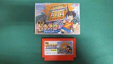 NES -- TOKYO PACHI SLOT ADVENTURE -- Famicom. Japan game. Work to ensure!! 10975