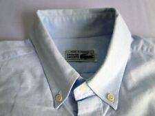 Lacoste Classic Herren Hemd Langarm Blau Meliert Gr. S