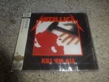 METALLICA/'KILL 'EM ALL' *JAPAN 2011 NEW/SEALED SHM-CD*