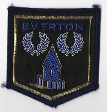 Original Vintage 1970s Football Sew On Patch Everton Toffees Cloth Badge Unused