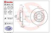 2x BREMBO Discos de Freno Traseros Pleno 272mm Para VOLKSWAGEN EOS 08.B413.11