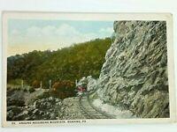 Vintage Postcard 1920's Around Neversink Mountain Reading PA Train Trolley
