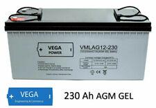 Solarbatterie 12V 230Ah AGM GEL USV Batterie - Wohnmobil Boot Solar C100