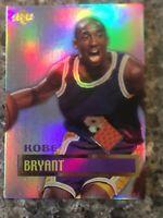 Kobe Bryant Edge '99 Game Used Basketball Lakers Basketball Card