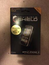 Original ZAGG Invisible Shield Scratch Protection for Apple iPhone 4/4S