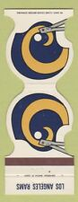 Matchbook Cover - Los Angeles Rams Football 1980 Pro Graphics Santa Ana CA