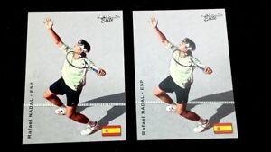 (2) 2003 Netpro Elite Rafael Nadal #19 - 1 of 2000 Nice Rookie Cards PSA BGS GMA