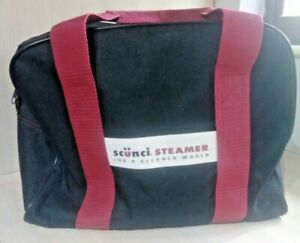 Scunci Steamer 900 Model 52063 with Bag and attachments