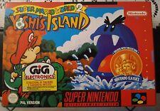 Super mario world yoshi's island - super nintendo snes -  new