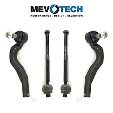 For Mercedes W210 E320 4Matic Pair Set of 2 Inner & Outer Tie Rod Ends Mevotech