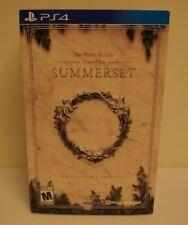 New! The Elder Scrolls Online: Summerset [Collector's Edition] (PlayStation 4)