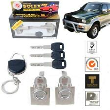 For 05-14 Mitsubishi L200 Triton Solex 2 Door Lock Security Safety Key Cylinder
