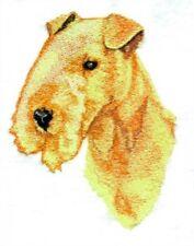 Embroidered Ladies Short-Sleeved T-Shirt - Lakeland Terrier Bt3983