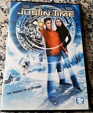 JUSTIN TIME RARE DVD Family Time Travel Sci-Fi Action Chris Laird Danny Trejo